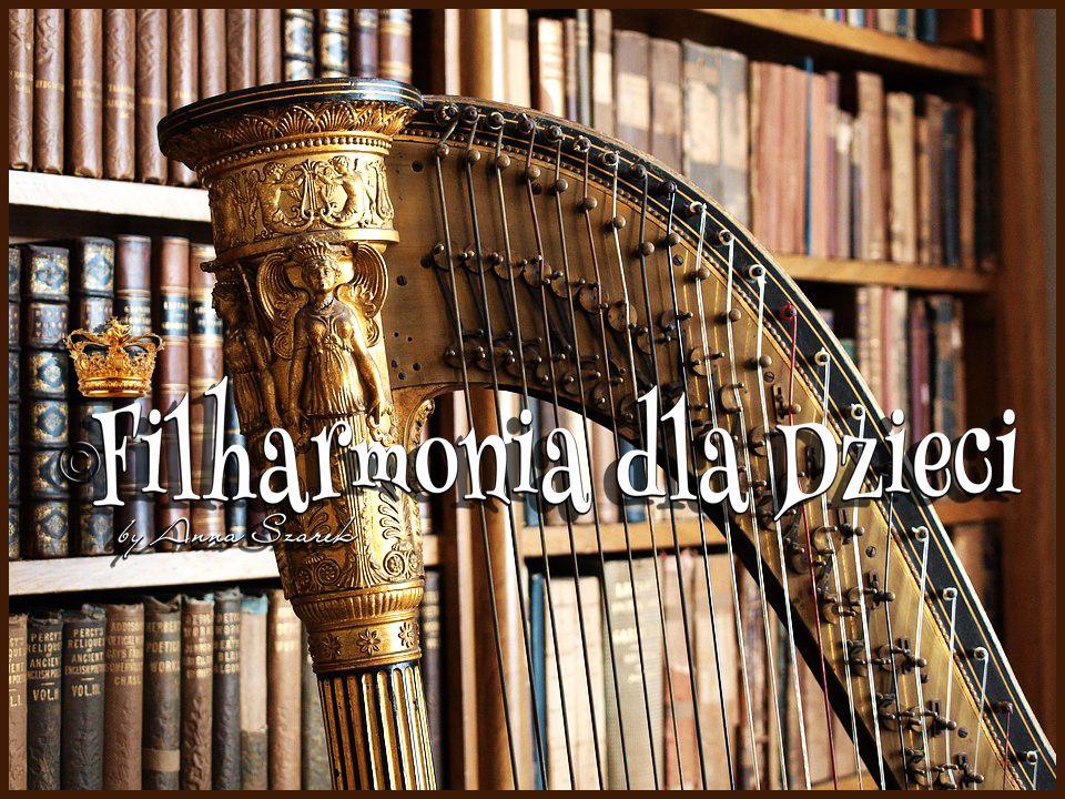 Filfarmonia dla Dzieci harfy listopad by Anna Szarek