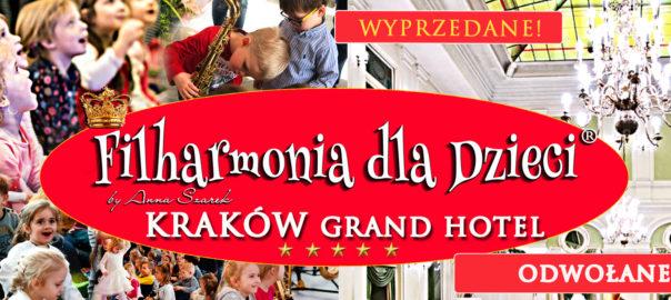 Filharmonia dla Dzieci- ODWOLANE