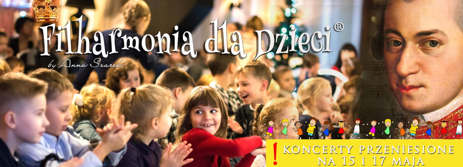 Filharmonia dla Dzieci mozart Zielonka nowe terminy