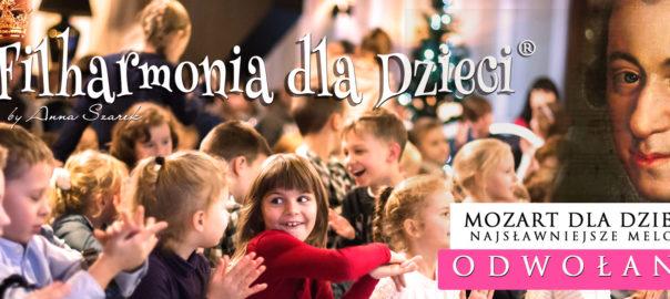 Filharmonia dla Dzieci powiat wołomiński Zielonka ODWOŁANE