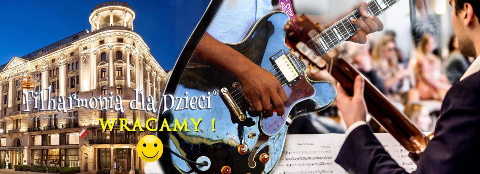 Gitary Sierpien Filharmonia dla Dzieci Bristol